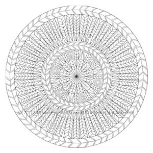 Arrow Mandala