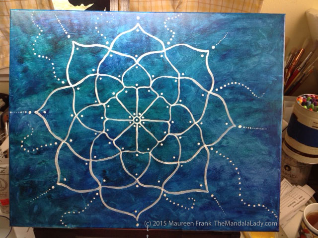 Paint This Mandala With Me